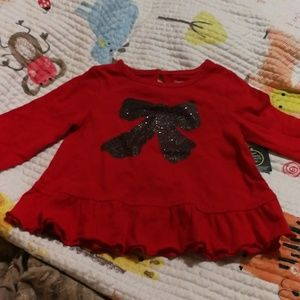 Other - Bow red top.